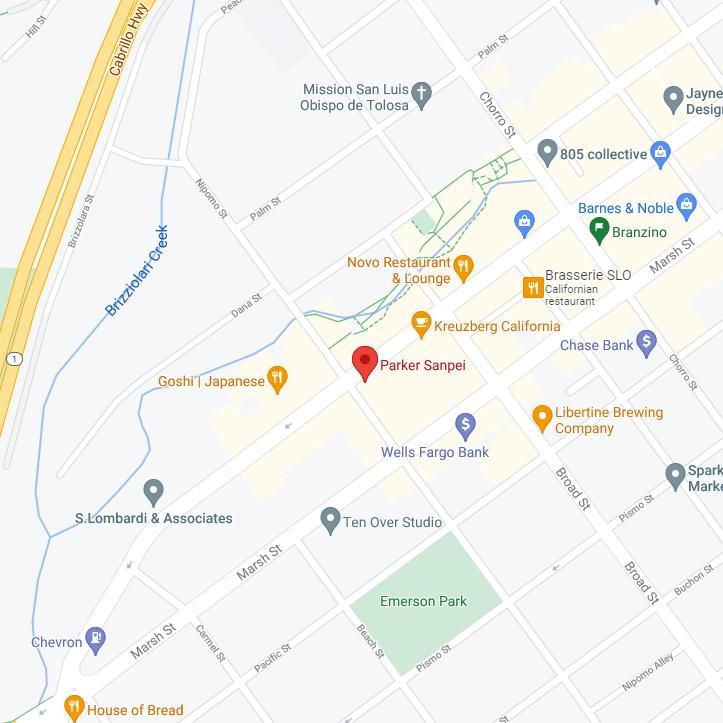 Parker Sanpei Map